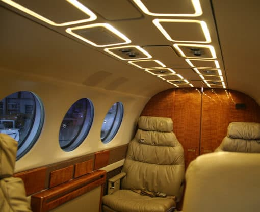 PWI LED King Air 300 Upgrade features two color temperatures to choose from and up to 100K hour lifespan.