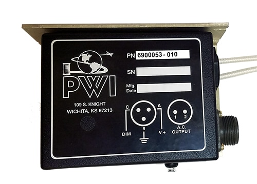 PWI power supply that is included in the King Air Upgrade kits. Depending on the number of lights, will depend on the number of power supplies we provide.