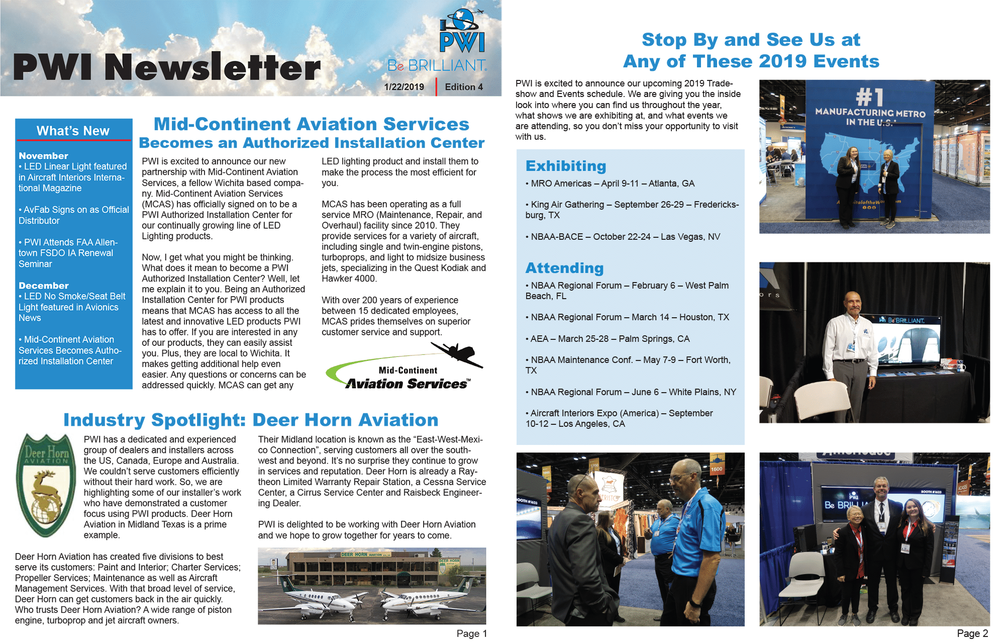 Newsletter | PWI, Inc