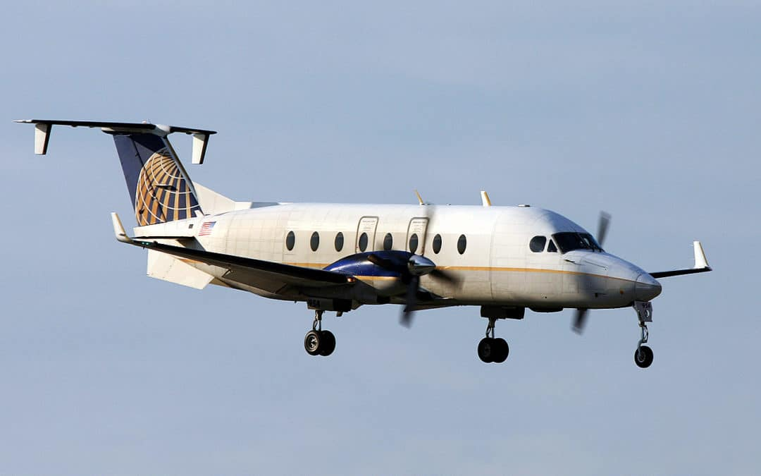 FAA Certifies PWI's 303X LED Reading Light for Beechcraft 1900