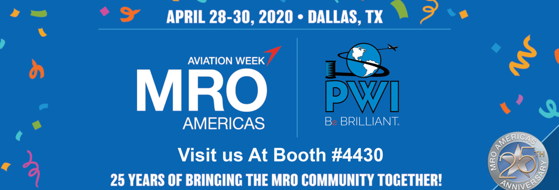 PWI at MRO show 2020